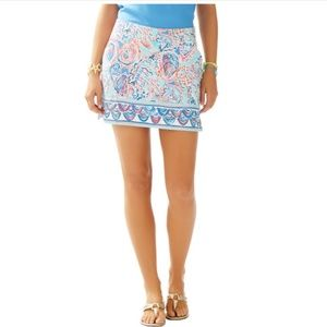 Lilly Pulitzer Marigold Skort Shell Me About It